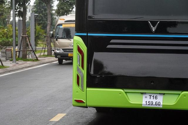 Xe buýt điện VinBus bắt đầu chạy thử nghiệm tại Hà Nội - 7