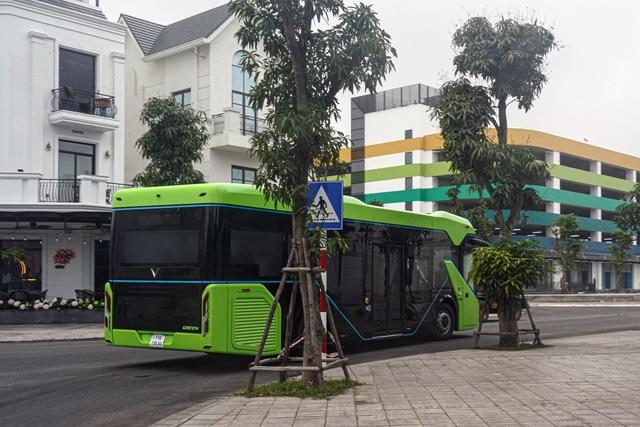 Xe buýt điện VinBus bắt đầu chạy thử nghiệm tại Hà Nội - 5
