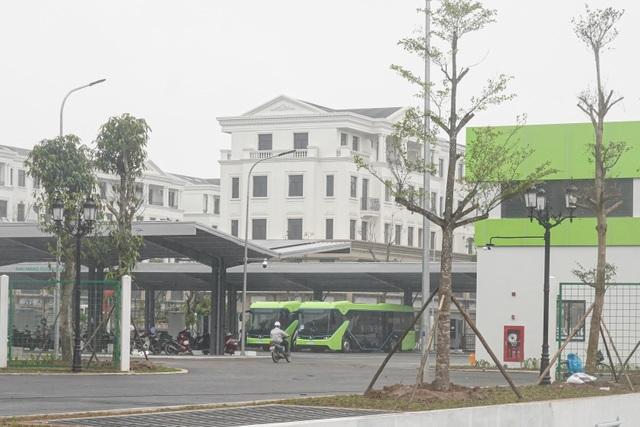 Xe buýt điện VinBus bắt đầu chạy thử nghiệm tại Hà Nội - 3