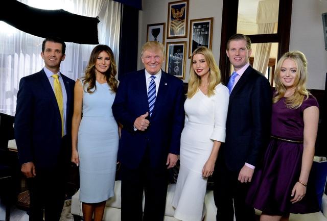 Bí quyết nuôi dạy 5 người con thành công của ông Trump - 1