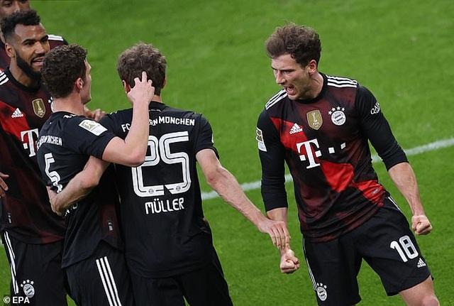 Bayern Munich tiến sát ngôi vô địch, Haaland bất lực cùng Dortmund - 5