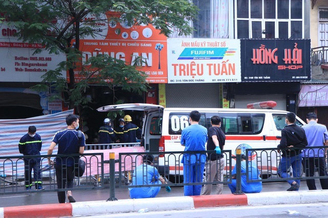 Hà Nội: Cháy lớn ở cửa hàng đồ sơ sinh, 4 người trong gia đình tử vong - 6