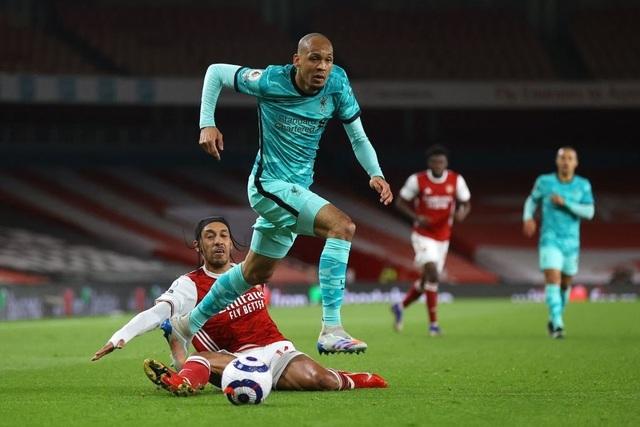 Arsenal 0-3 Liverpool: Bùng nổ trong 18 phút - 3