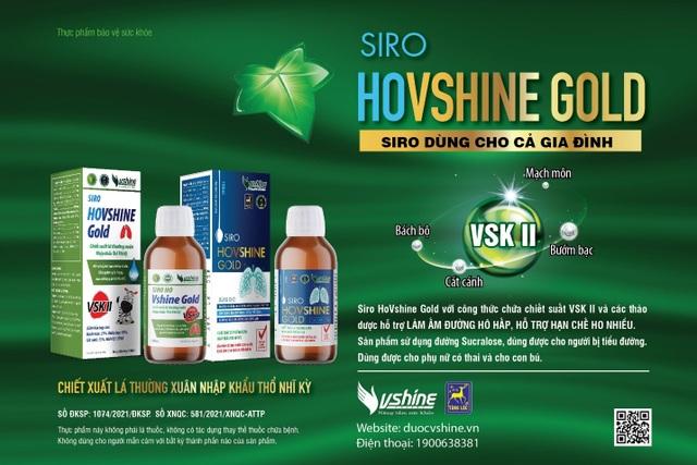 VSK II - Hợp chất mới hỗ trợ điều trị ho hiệu quả - 5