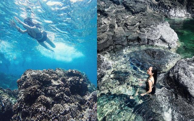 Độc lạ hồ bơi nổi trên biển đẹp như trời Âu ở Bình Thuận - 5