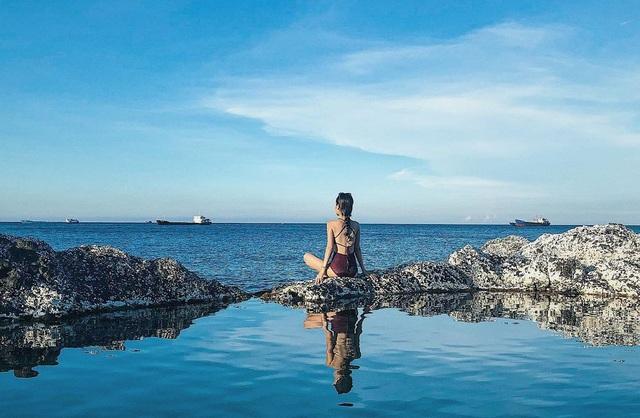 Độc lạ hồ bơi nổi trên biển đẹp như trời Âu ở Bình Thuận - 6