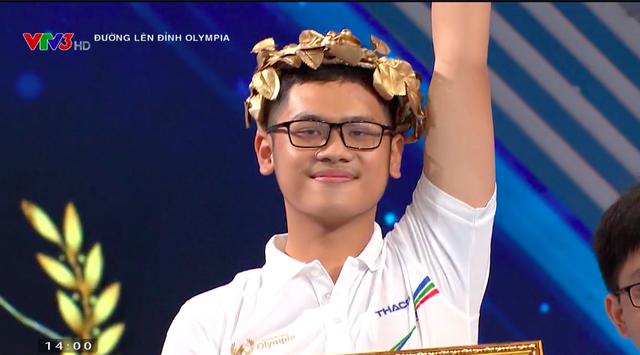 Chàng trai tự nhận mình ngơ chiến thắng cuộc thi tuần Olympia  - 3