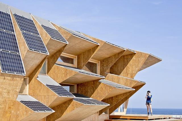 Nhà triển lãm tích hợp gạch năng lượng mặt trời - 4