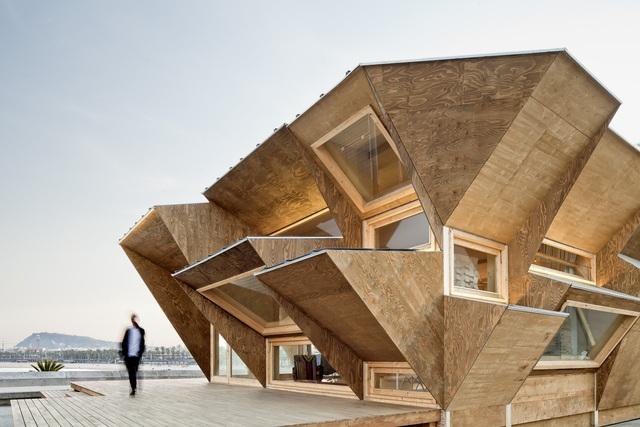 Nhà triển lãm tích hợp gạch năng lượng mặt trời - 1