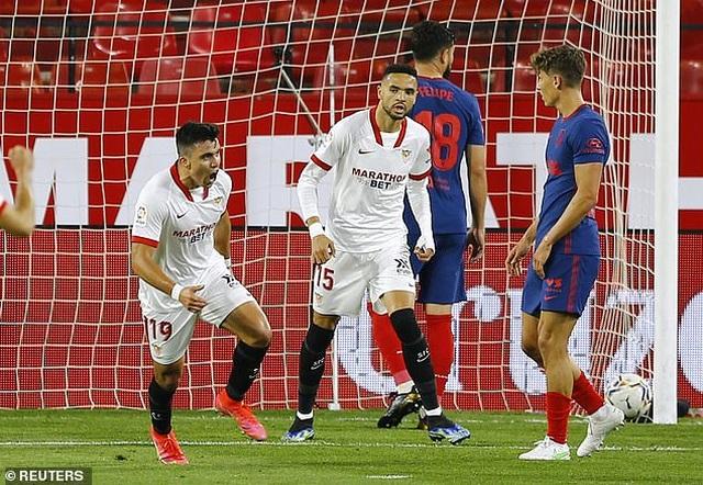 Luis Suarez gây thất vọng, Atletico thua cay đắng Sevilla - 5