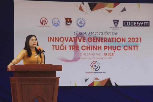 Quảng Trị khai mạc cuộc thi Thế hệ sáng tạo 2021 - 2
