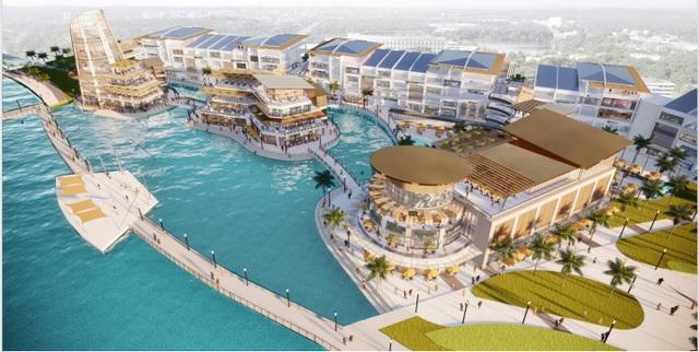 Triển khai đại trung tâm thương mại trên mặt nước tại Ecopark - 1