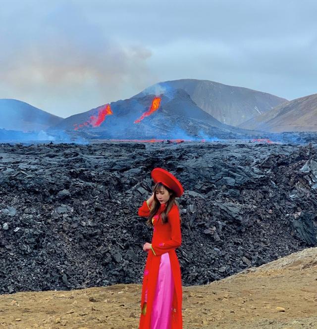 Cô gái Việt kể trải nghiệm ngắm núi lửa độc đáo 6000 năm mới có - 5
