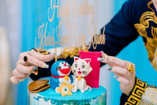Mẹ chồng đi 4 tiệm vàng, tìm đặt bộ trang sức hình Doraemon... tặng con dâu - 10