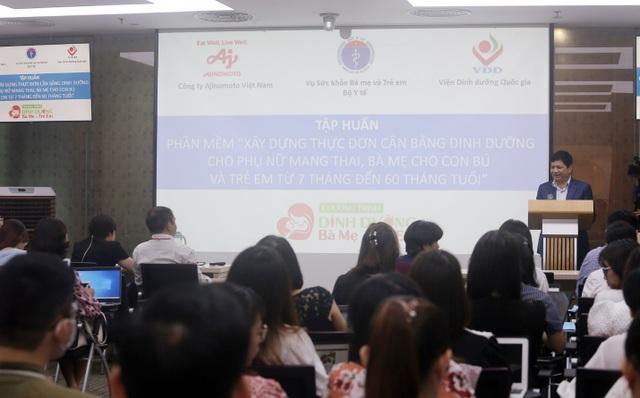 Viện trưởng Viện dinh dưỡng Quốc gia: Cân bằng dinh dưỡng là vấn đề cấp bách - 3