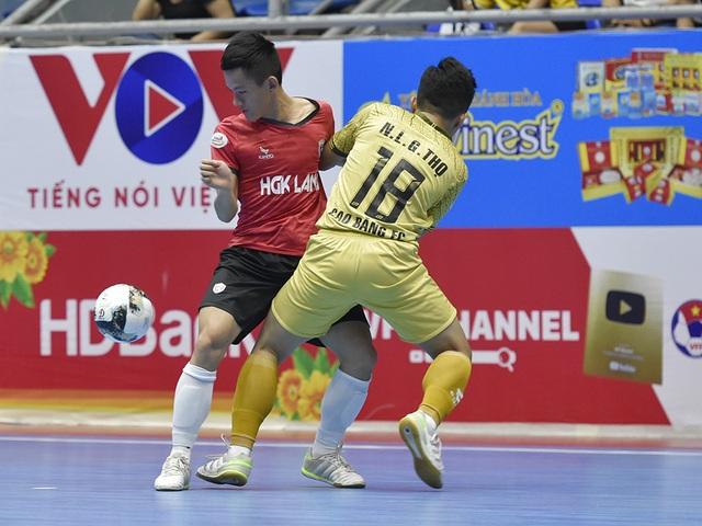 Xác định đủ 10 đội dự vòng chung kết giải futsal vô địch quốc gia 2021 - 1