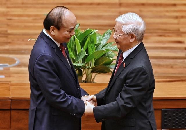 Tân Chủ tịch nước Nguyễn Xuân Phúc tuyên thệ nhậm chức - 7