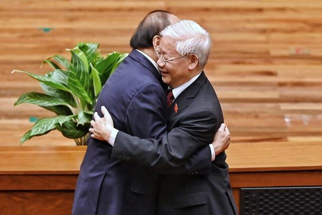 Tân Chủ tịch nước Nguyễn Xuân Phúc tuyên thệ nhậm chức - 8