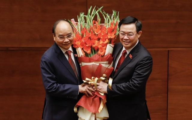 Tân Chủ tịch nước Nguyễn Xuân Phúc tuyên thệ nhậm chức - 9