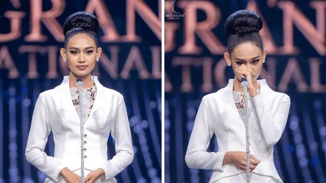 Lời gan ruột của Hoa hậu Myanmar trên đấu trường sắc đẹp quốc tế - 1