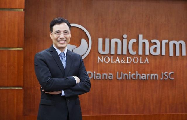Ông Đỗ Anh Tú được bổ nhiệm làm Phó Chủ tịch Diana Unicharm - 1