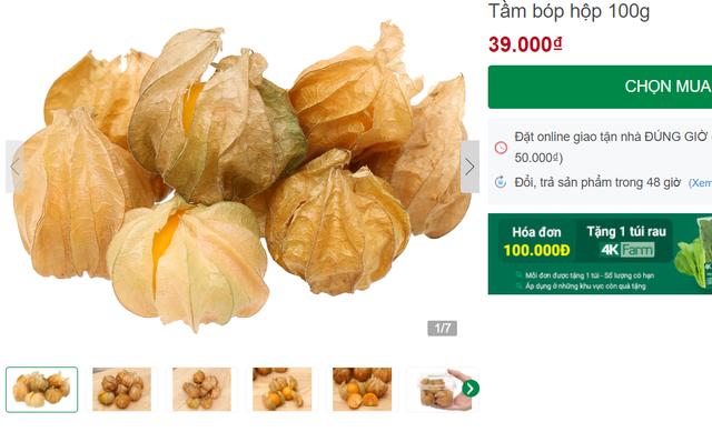 Tầm bóp ở quê chỉ là quả dại, lên kệ siêu thị bán giá 400.000 đồng/kg - 1