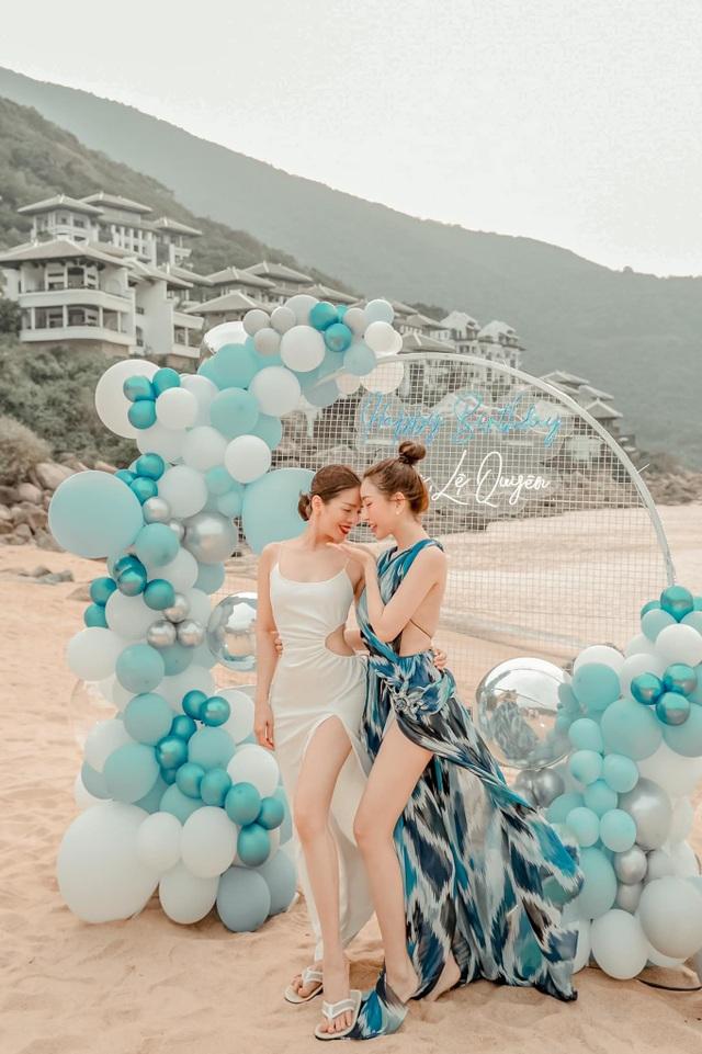 Hoa hậu đua nhau diện váy xẻ sâu khoe vòng 1 gợi cảm - 9