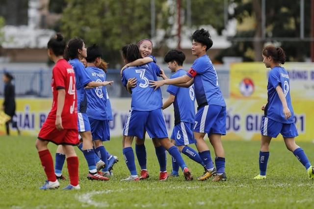 Giải BĐ Nữ Vô địch U19 Quốc gia 2021: Than KSVN vô địch sớm 1 vòng - 1