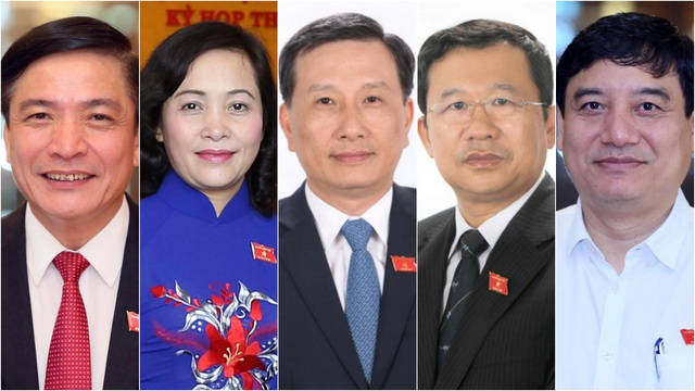 Ủy ban Thường vụ Quốc hội có 5 Ủy viên mới - 1