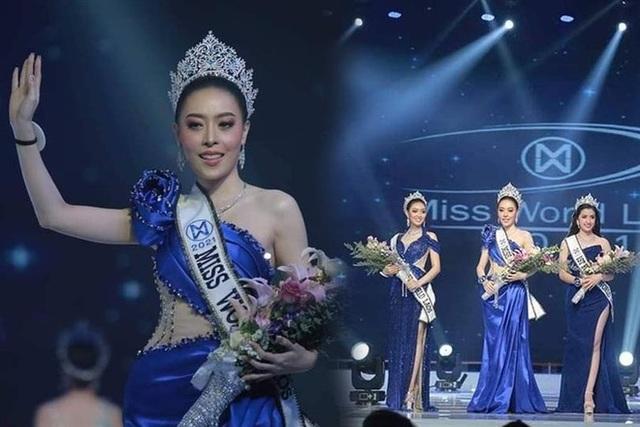 Nhan sắc hoa hậu Lào vừa trả lại vương miện vì nghi án khai gian tuổi - 1