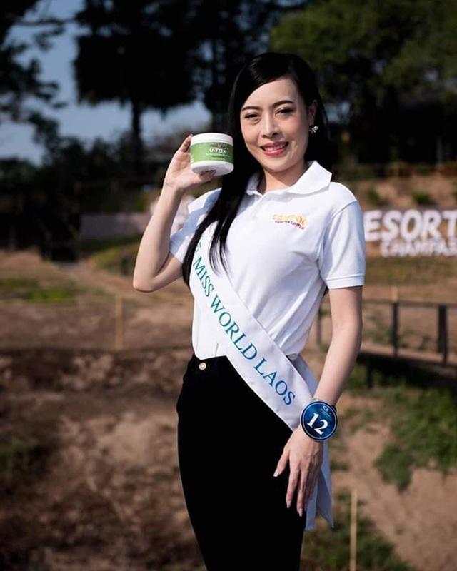 Nhan sắc hoa hậu Lào vừa trả lại vương miện vì nghi án khai gian tuổi - 6