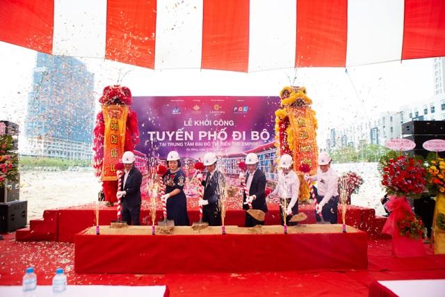 Một trong những tuyến phố đi bộ ấn tượng tại Việt Nam chính thức được khởi công xây dựng - 1