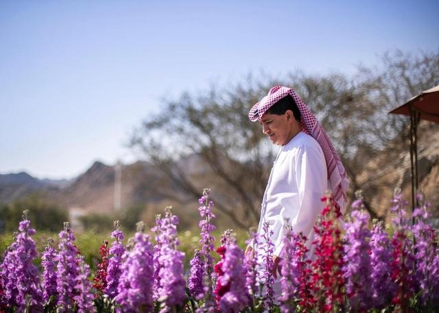 Nhân viên ngân hàng về hưu tạo vườn hoa rực rỡ giữa mảnh đất nắng, gió - 5