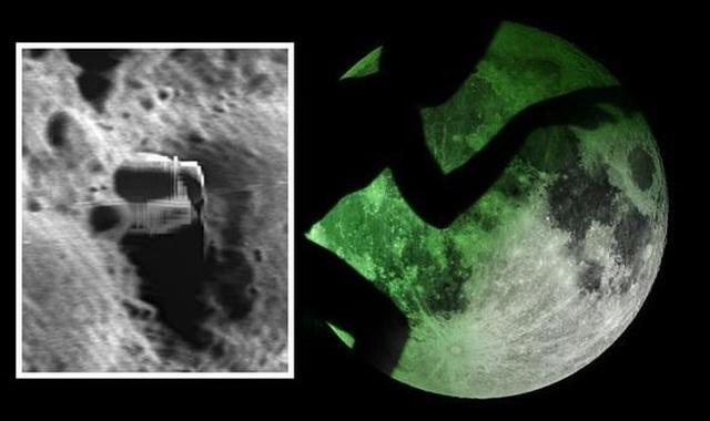 Sốc: Phát hiện thành phố của người ngoài hành tinh trên Mặt Trăng - 1