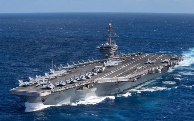 Mỹ tiết lộ hoạt động của nhóm tàu sân bay ở Biển Đông - 1