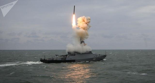 Chiến hạm Nga nã tên lửa hành trình sát thủ uy lực - 1