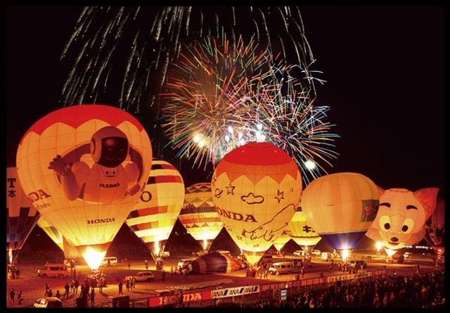 Đắm mình vào mùa thu Nhật Bản trong lễ hội khinh khí cầu lớn nhất châu Á - 8