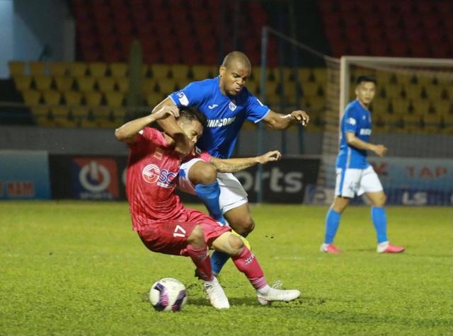 Đánh bại Sài Gòn FC, Than Quảng Ninh vươn lên dẫn đầu V-League - 3