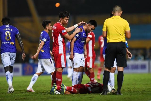 CLB Hà Nội 0-1 CLB Viettel: Trọng Hoàng ghi bàn, Quang Hải kém duyên - 2