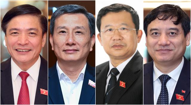 Tổng thư ký Quốc hội, 3 Chủ nhiệm Ủy ban mới của Quốc hội nhậm chức - 1