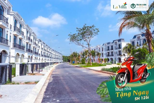 Sở hữu nhà phố La Villa Green City trung tâm TP. Tân An - Tặng ngay 1 xe SH 125i - 1