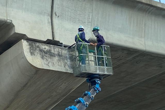 Kiểm định chất lượng toàn bộ gối cao su dầm cầu metro 1 - 1