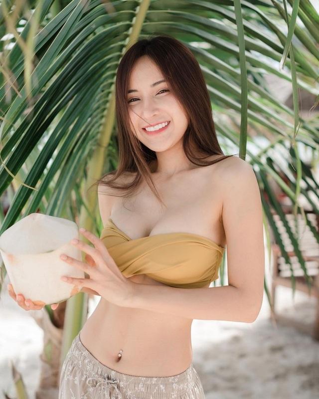 Hot girl Thái Lan lai 4 dòng máu được khen đẹp tựa thiên thần - 1