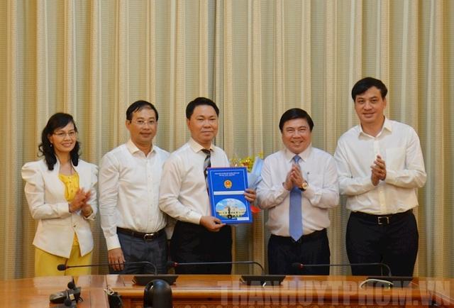 Bổ nhiệm Bí thư Huyện ủy Bình Chánh làm Giám đốc Sở Xây dựng TPHCM - 1