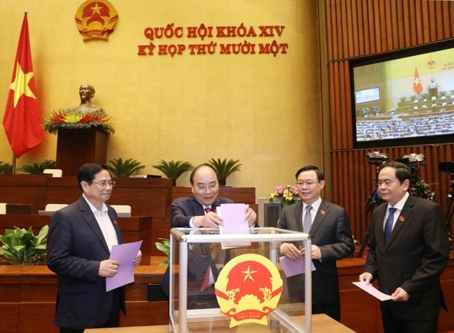 Hôm nay Thủ tướng Phạm Minh Chính tiếp nhận bộ máy Chính phủ mới - 1