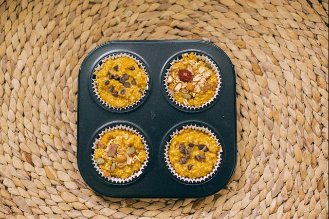 Công thức làm bánh muffin yến mạch dinh dưỡng không lo tăng cân - 1