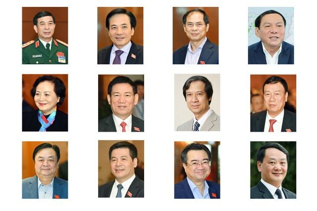 Kết quả bỏ phiếu phê chuẩn bổ nhiệm 12 Bộ trưởng mới của Chính phủ - 1