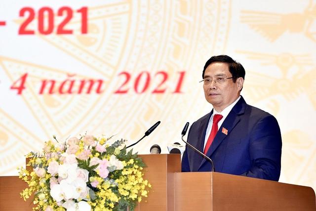 Tân Thủ tướng nhận bàn giao Chính phủ, công bố bổ nhiệm 14 nhân sự - 3