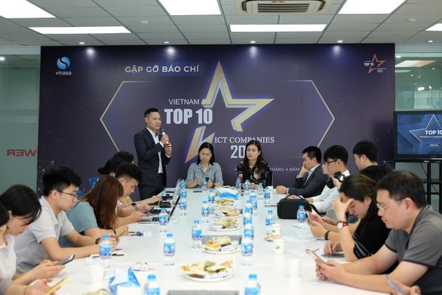 Phát động giải thưởng Top 10 doanh nghiệp ICT Việt Nam 2021 - 1