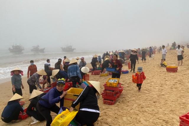 Trúng đậm cá nục mộng, ngư dân Quảng Bình thu tiền triệu mỗi đêm - 1